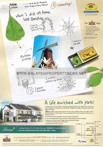 Bandar Parkland Bukit Tinggi 3 Klang | Double Storey Terrace Homes For Sale in Klang