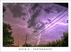 Lightning (K.G.Photos) Tags: city pink blue trees light urban cloud storm color detail tree nature colors rain yellow electric night clouds canon dark season landscape real photography eos lights photo drops high cool kevin raw glow purple dynamic bright image photos michigan g stormy drop rainy wires static imaging nik lightning kg range tiff tone telephonewires keving hdr 2010 topaz adjust photomatix colorfulsky goolsby hdrphotography denoise mywinners skyhdr urbanhdr topazadjust hdrcreativeshots t1i canoneosrebelt1i topazdetail rangehdr