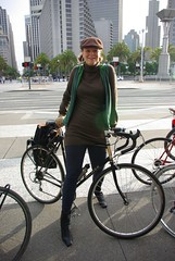 Wooly Butter (Adrienne Johnson SF) Tags: me hoff butterlap friendpic changeyourliferideabike