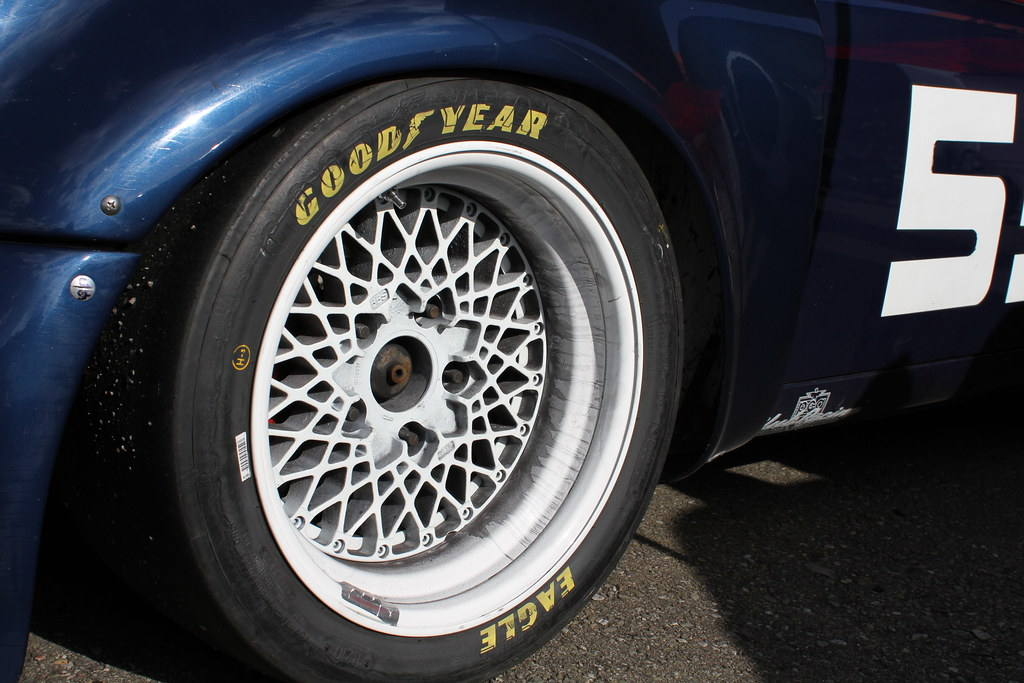 Goodyear Eagle racing slick tires