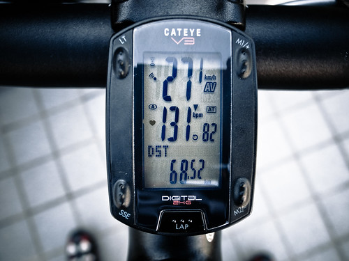 68km トレーニング区間ave31.3