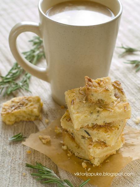 Rosemary Honey Shortbread