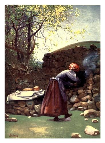 016-Un horno de lecha-Corsica-1909-Edwin A. Norbury