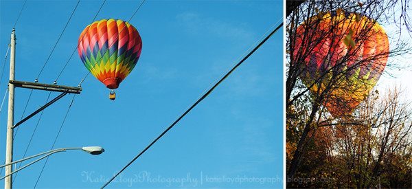 Air Balloon Diptych