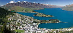 queenstown (Daniel Murray (southnz)) Tags: newzealand mountain lake landscape town scenic alpine nz southisland queenstown remarkables wakatipu southnz