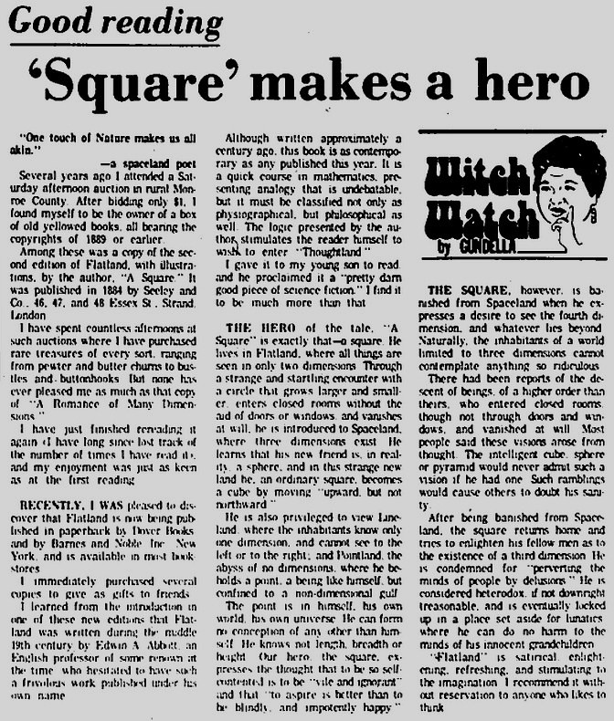 'Square' makes a hero