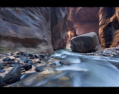 Path of Light, Zion (Barrett Donovan) Tags: canyon zion donovan narrows barrett thenarrows pathoflight