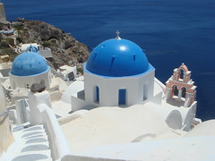 I couldn't go to Santorini and not take a photo of this :)