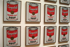 NYC - MoMA: Andy Warhol's Campbell's Soup Cans (by wallyg)