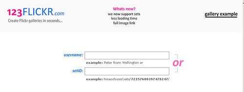 123flickr-只要三步驟,輕鬆擁有flash相簿
