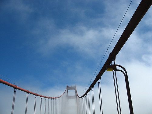 Mist on the Golden Gate