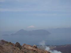 昭和新山から眺める蝦夷富士