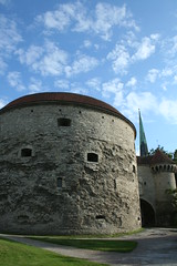Fat Margaret (Doubletee) Tags: sky tower clouds geotagged gate tallinn estonia kitlens wideangle steeple bastion eesti canonefs1855mmf3556 fatmargaret paksmargareeta greatcoastgate
