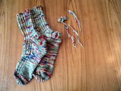 The Sockpal Socks are done!