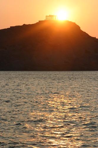 Sunrise over the Acropolis