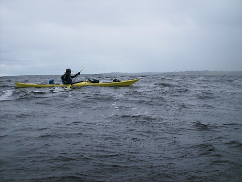 Rough Weather on Lough Ree