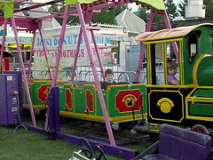 Geoffrey on the Train (DNAMichaud) Tags: fair geoffrey navan navanfair