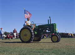 Tractor2 (Max_Xenotar) Tags: 6x9 e100vs johndeere speedgraphic optar135 daysofthepast
