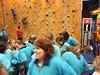 Gearing up to climb (anakiwa_forever) Tags: newzealand aqua wellington leaders rockclimbing guiding girlguides youngleaders fergs girlguiding inthelead