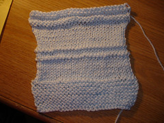 Knitting Swatch 1