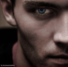 right side story (**DARK-O-krizmanic**) Tags: blue portrait selfportrait male eye me cdg autoportret outstandingshots mywinners platinumphoto