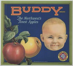 Vintage Fruit Crate Label 14