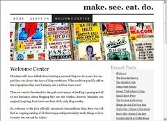 Tom and Christine's new blog.
