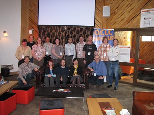Group photo participants OCLC Mashathon, Liverpool 2010