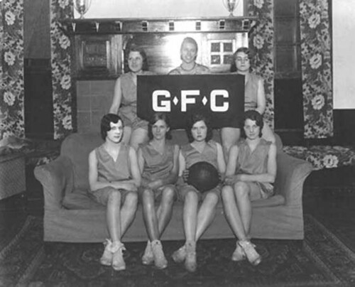 Goodfellowship basketball team, 1933