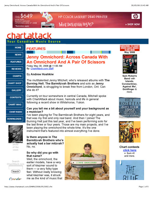 Chart Magazine 1