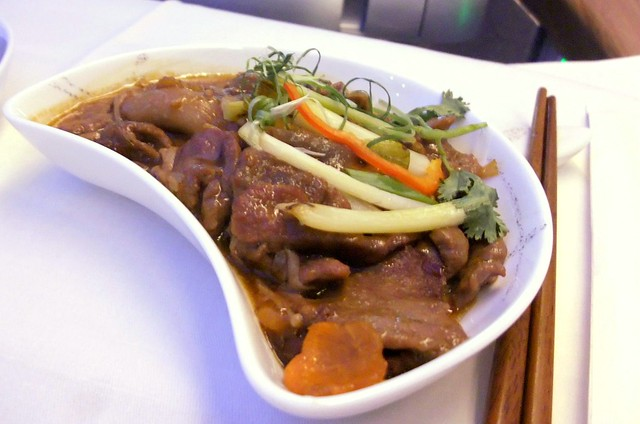 Stir-Fried Beef with Enoki Mushrooms