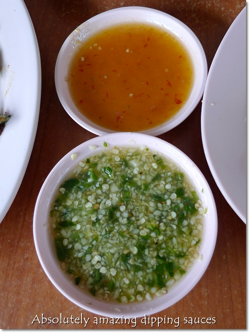 Chili Plum Sauce & Lime, Garlic and Cili Padi