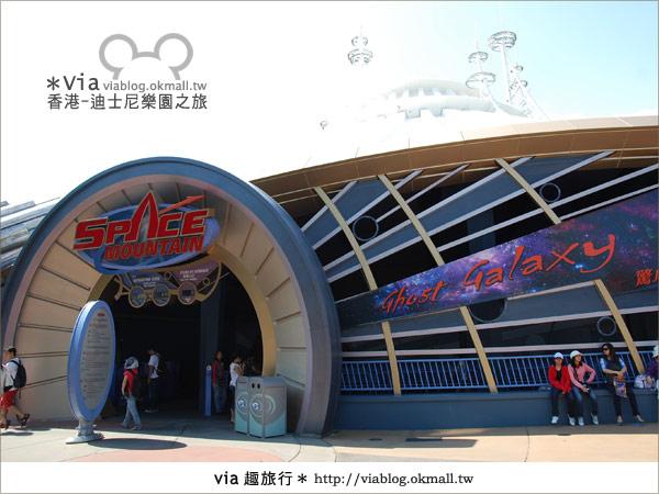 【香港自由行】跟著via玩香港(1)~爆走香港迪士尼樂園29