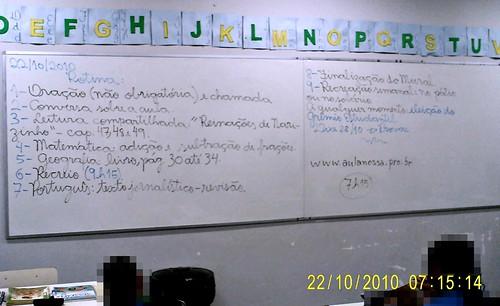 Rotina Prevista (22/10/2010)