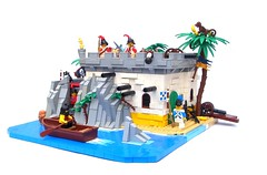 Armada Outpost (NewRight) Tags: lego armada pirate sentry outpost