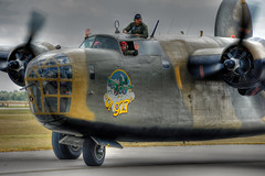 'Ol 927 (Angelo Bufalino - AirTeamImages) Tags: wings nikon force air over houston airshow pro nikkor liberator hdr 28300mm warbird b24 commemorative photomatix f3556 tonemapped d700