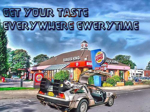 Burger King Shirley Like The One In Back To The Future