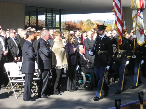 American Veterans Disabled For Life Memorial Groundbreaking