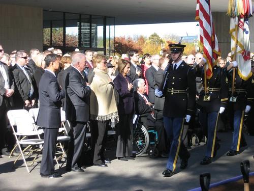 American Veterans Disabled For Life Memorial Groundbreaking