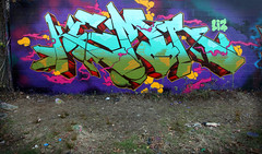 THE POST SEASON (ALL CHROME) Tags: graffiti explorer spraypaint kemer kem ges kem5 kems kemr