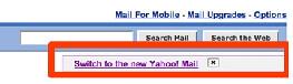 Yahoo Mail Option