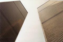 World Trade Center II (David Barrie) Tags: newyork architecture facade skyscraper worldtradecenter vertic