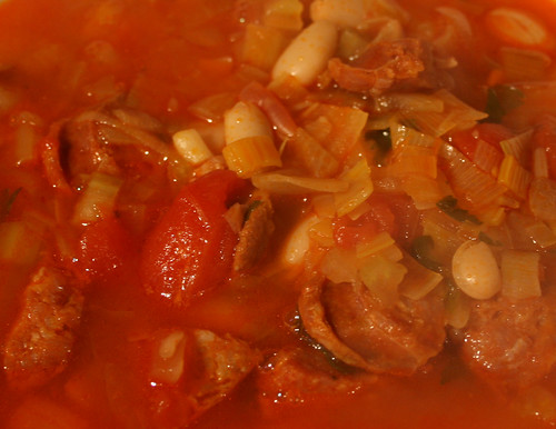 Chorizo and Cannellini Bean Soup