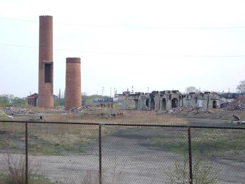 Solvay Coke ruins
