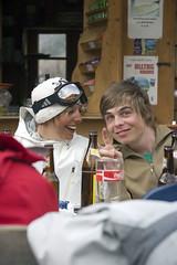 Claudia und See (nihilistenrauris) Tags: rauris nihilisten boardercross2007