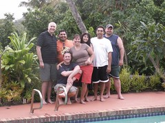 The Kauai Seven: Jon, James, Amy, Sabrina, Eric, Steve and Tim. (07/09/07)