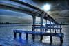 Memorial Causeway Bridge (worldwidewandering) Tags: bridge deleteme5 deleteme8 sun deleteme deleteme2 deleteme3 deleteme4 deleteme6 deleteme9 deleteme7 saveme florida saveme2 hdr clearwater photomatix
