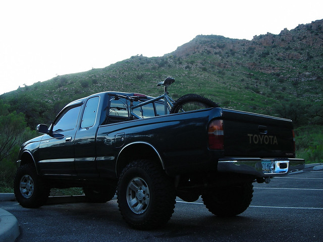 arizona mountain mountains wheel drive catalina mt tucson 4 4wd mount biking toyota tacoma lemmon wesnoonan