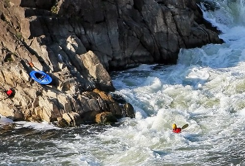 Kayaking at Great Falls