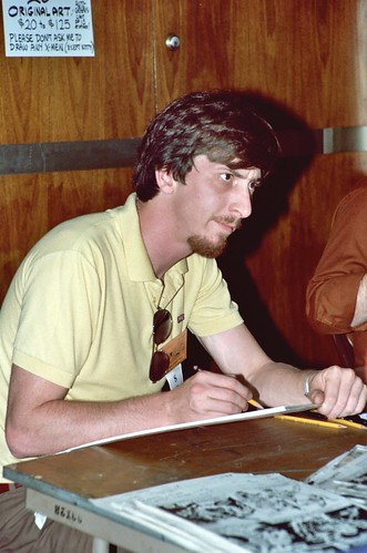Frank Miller, 1982 San Diego Comic Con